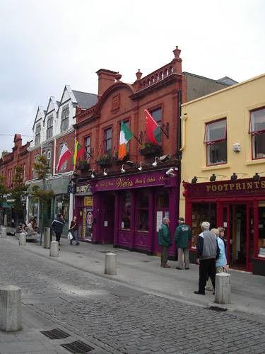 Zdj�cia: Dun Laoghaire, G��wna arteria miasta, IRLANDIA