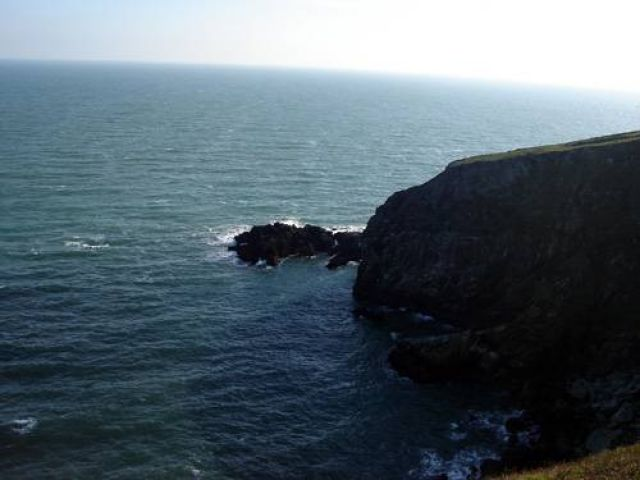 Zdj�cia: P�wysep Howth, Klify na Howth, IRLANDIA