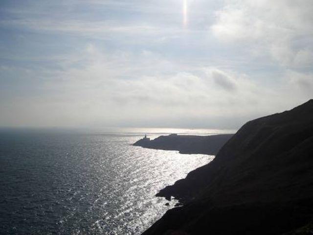 Zdjęcia: Półwysep Howth, Klify na Howth, IRLANDIA