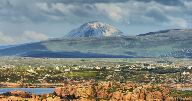 Zdjęcia: Wyspa Aran, Widok z wyspy Aran, IRLANDIA