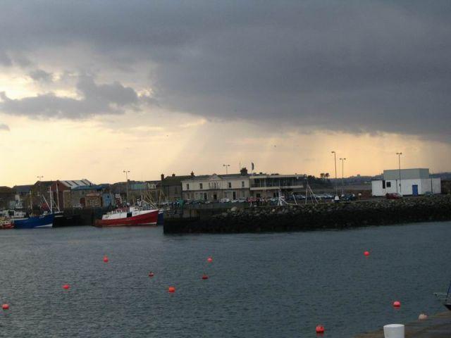 Zdjęcia: Dublin, Europa, Burza nad zatoką, IRLANDIA
