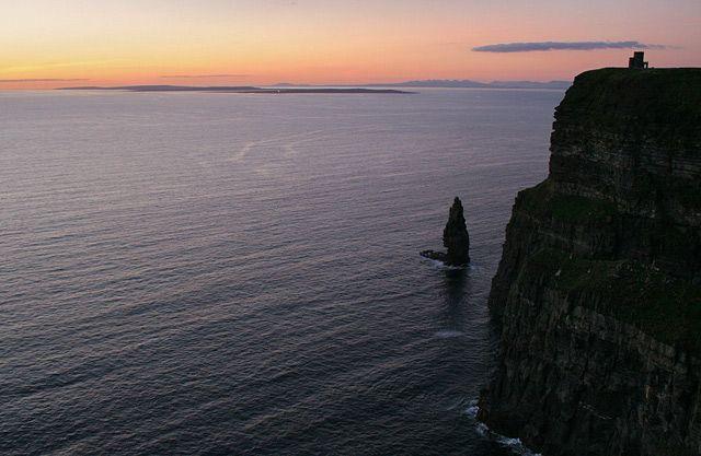 Zdjęcia: Cliffs of Moher, aaale kicz :), IRLANDIA