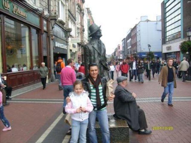 Zdjęcia: dublin, dublin, pomnik, IRLANDIA