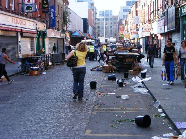 """Zdjęcia: Dublin, Dublin, """"czyste"""" ulice stolicy Irlandii, IRLANDIA"""
