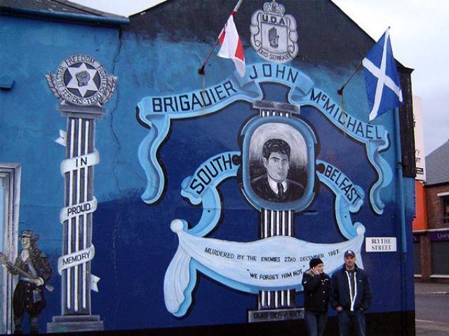 Zdjęcia: Belfast, Irlandia Północna, Murale z Belfastu, IRLANDIA