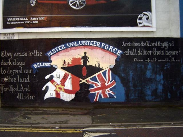 Zdj�cia: Belfast, Irlandia P�nocna, Murale z Belfastu, IRLANDIA