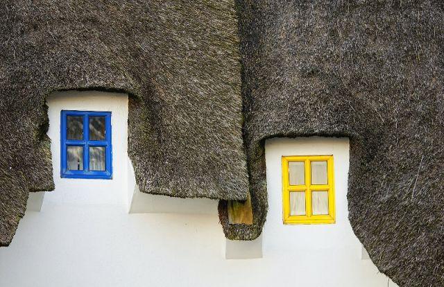 Zdjęcia: Dunmore East , Irlandzkie domeczki, IRLANDIA