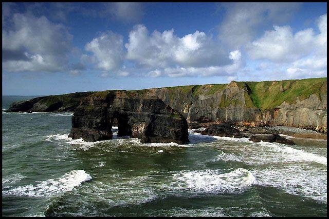 Zdjęcia: Ballybunion, Kerry, łuk, IRLANDIA