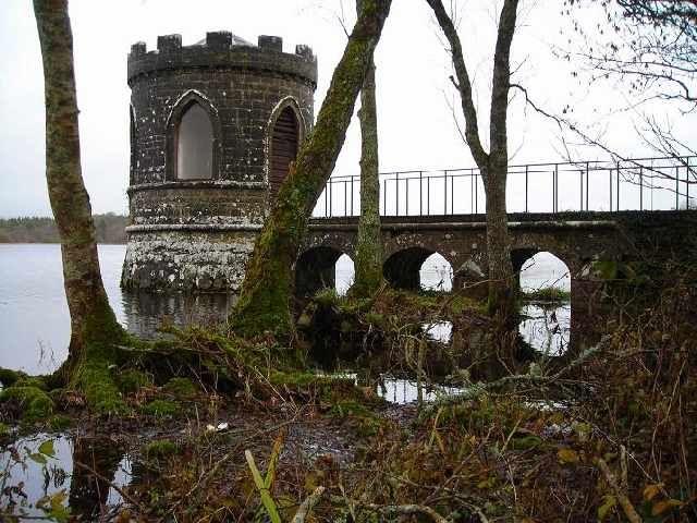 Zdjęcia: Lough Key, Hrabstwo Roscommon, Jezioro Lough Key, IRLANDIA
