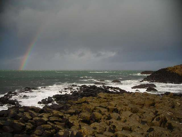 Zdjęcia: Giant's Causeway, Hrabstwo Antrim, Grobla Giganta 2, IRLANDIA