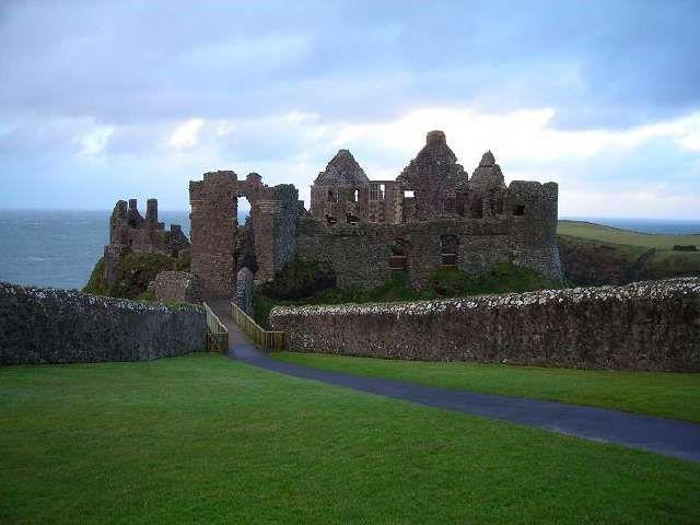 Zdjęcia: Dunluce, Hrabstwo Antrim, Zamek Dunluce, IRLANDIA