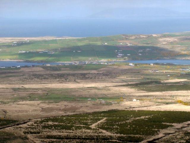 Zdjęcia: Pierścień Kerry, z drogi N70, IRLANDIA