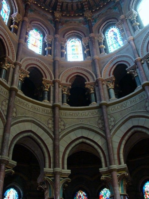 Zdjęcia: Cork, Katedra św. Fin Barry - wnętrze, IRLANDIA