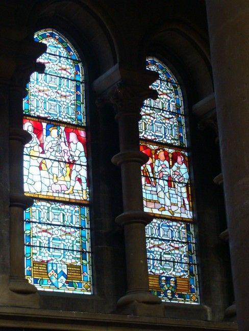Zdjęcia: Cork, Katedra św, Fin Barry - witraże #2, IRLANDIA