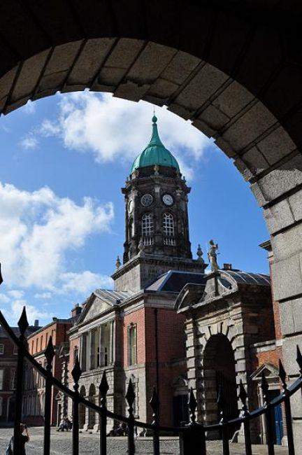 Zdjęcia: Dublin, Zamek w Dublinie, IRLANDIA
