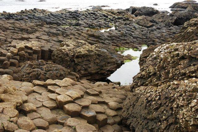 Zdjęcia: hrabstwo Antrim, Irlandia Północna, Grobla Olbrzyma cz.2, IRLANDIA