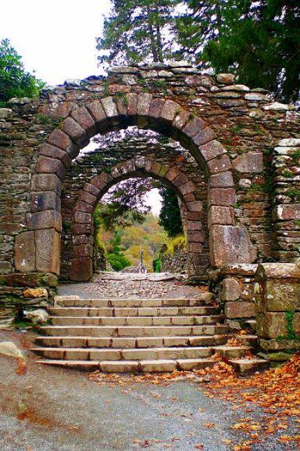 Zdjęcia: Glendalough, Co Wicklow, Wejście, IRLANDIA
