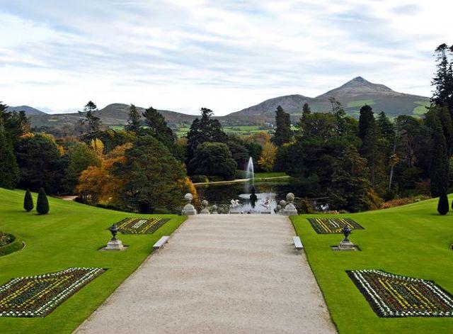 Zdjęcia: Powerscourt Garden Enniskerry, Ogrody, IRLANDIA