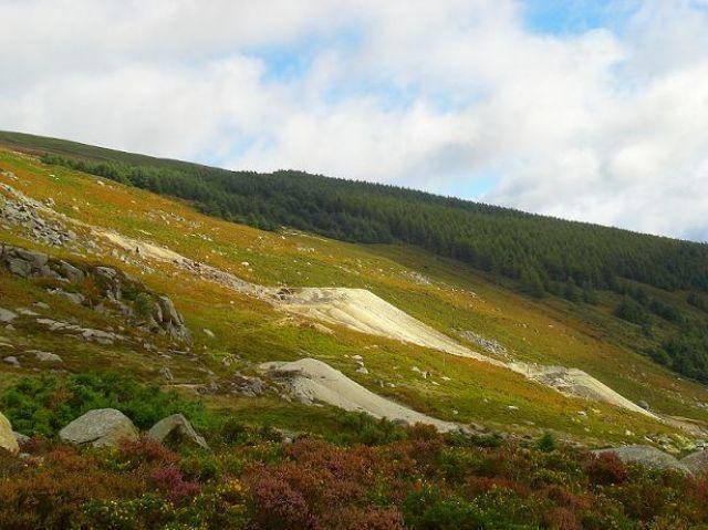 Zdjęcia: Góry Wicklow, Jesień w górach, IRLANDIA