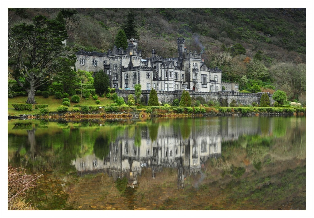 Zdjęcia: Kylemore Abbey, Connemara, Kylemore Abbey, IRLANDIA