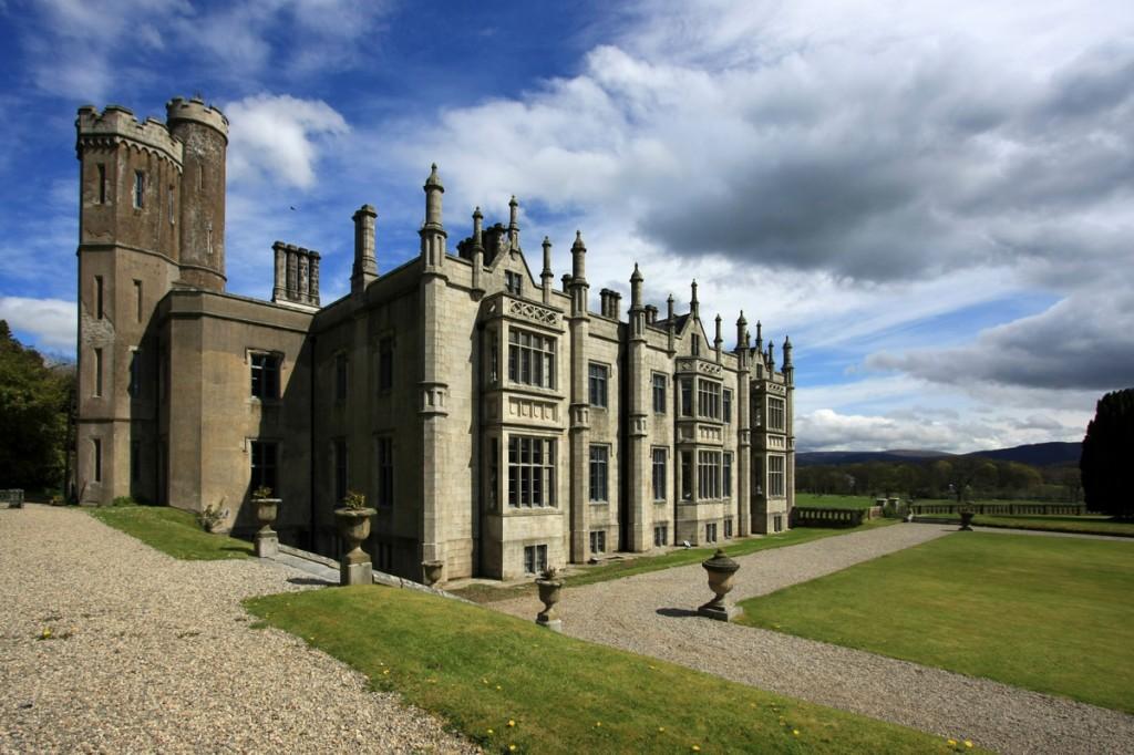 Zdjęcia: Warrenpoint, County Down, Irlandzki zamek, IRLANDIA