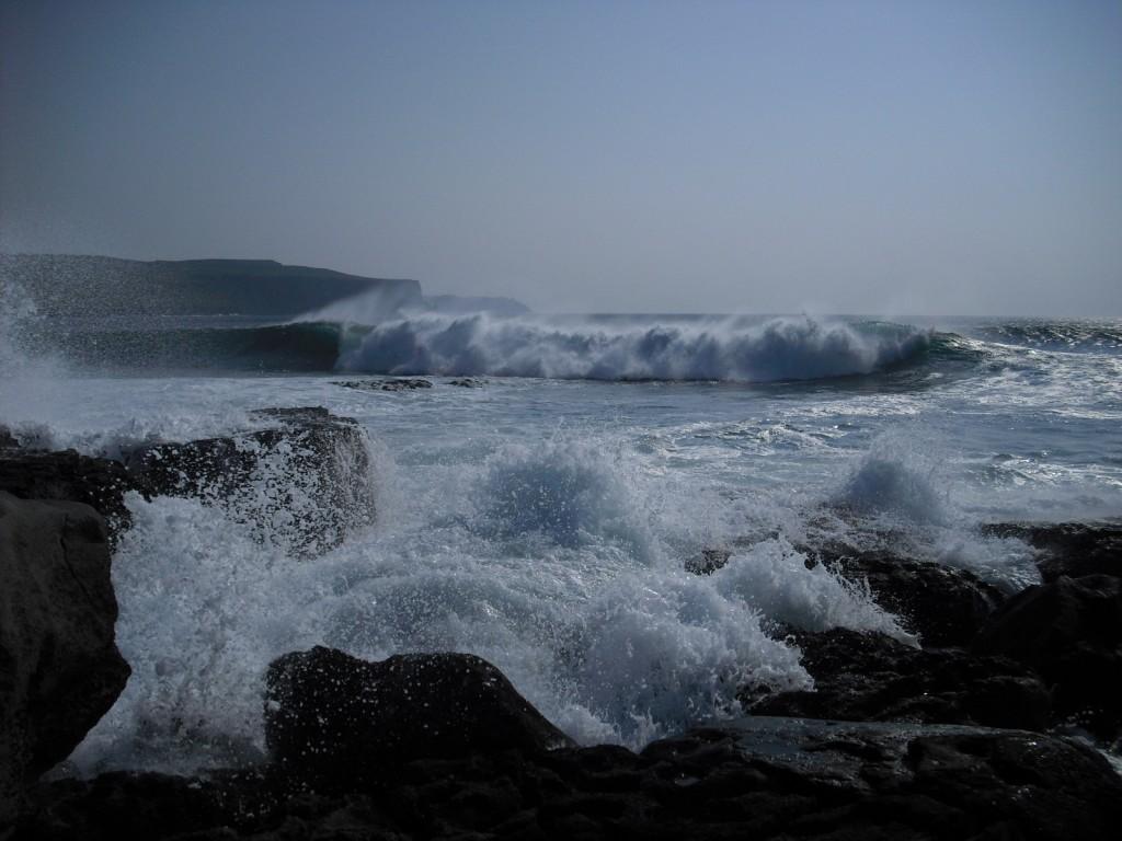 Zdjęcia: Ballyvaughan, zachodnia Irlandia, spokój oceanu, IRLANDIA
