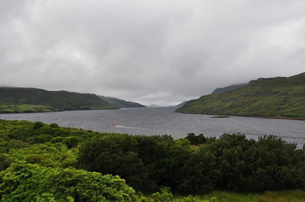 Zdjęcia: Pomiędzy hrabstwami Mayo i Galway., Pomiędzy hrabstwami Mayo i Galway., Killary Fiord , IRLANDIA