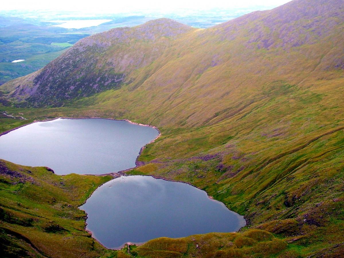 Zdjęcia: Macgillycuddy\'s Reeks, Kerry, W drodze na Carrantuohill., IRLANDIA