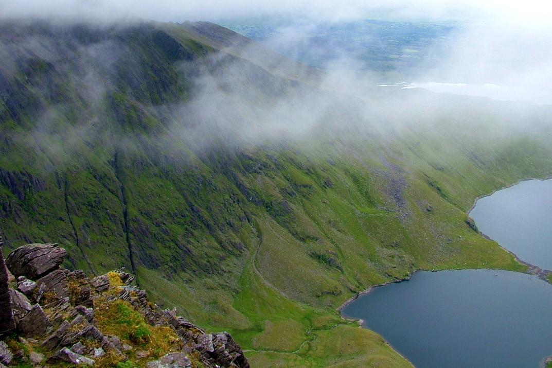 Zdjęcia: Macgillycuddy's Reeks, Kerry, W drodze na Carrantuohill., IRLANDIA