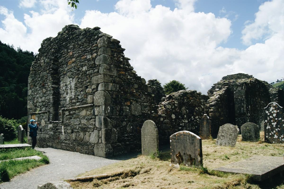 Zdjęcia: Glendalough, Co. Wicklow, Monastic City, IRLANDIA