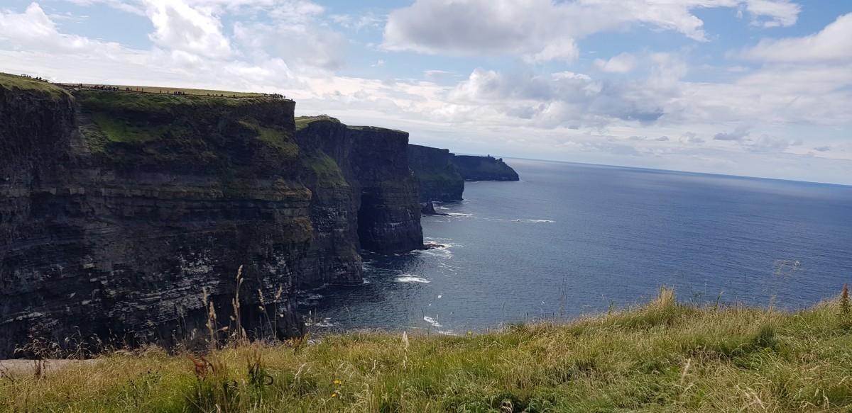 Zdjęcia: Liscannor , Irlandia , Klify Moher, IRLANDIA