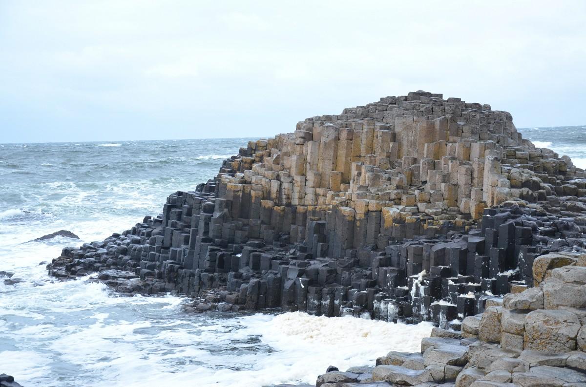 Zdjęcia: Grobla Olbrzyma, hrabstwo Antrim, Grobla Olbrzyma, Giants Causeway, IRLANDIA