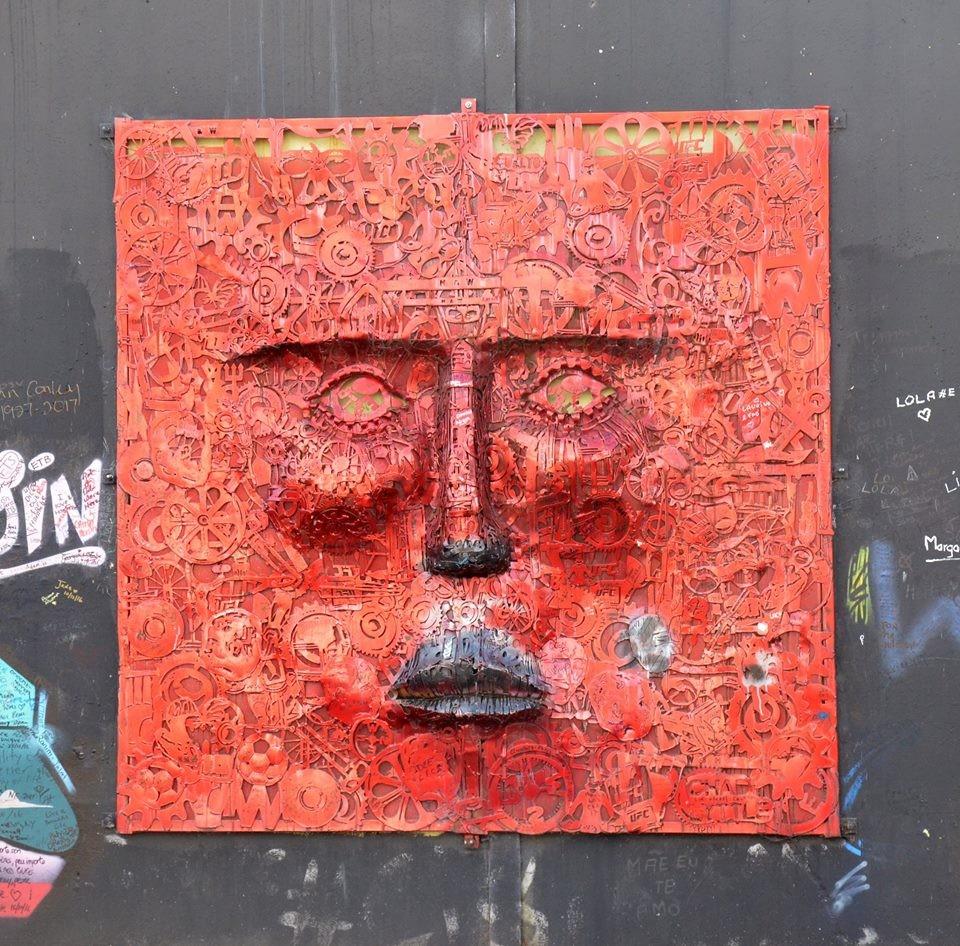 Zdjęcia: Belfast, Belfast, Ściana Pokoju, IRLANDIA