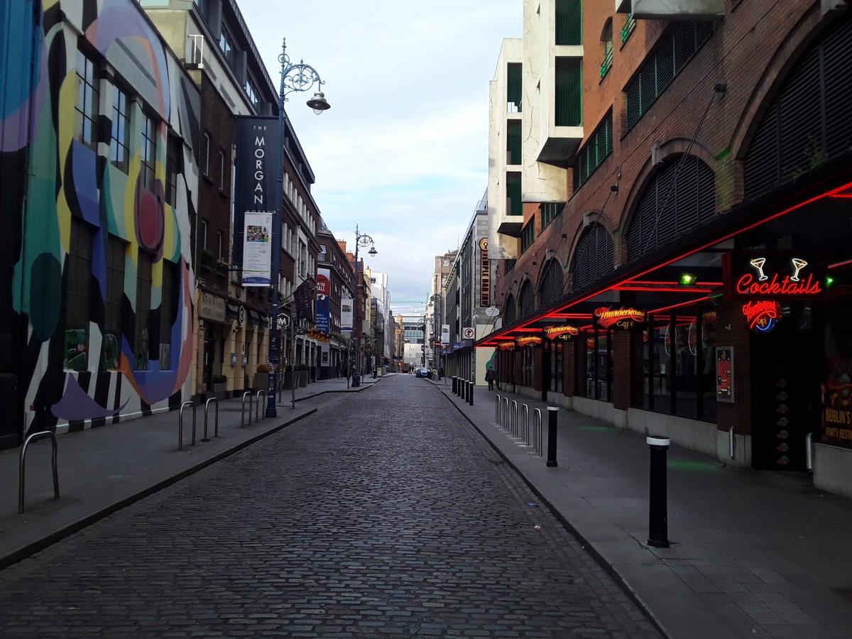 Zdjęcia: Temple bar , Dublin , Dublin Temple Bar, IRLANDIA