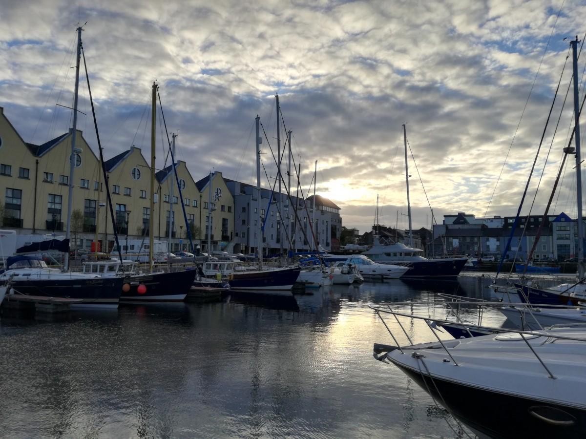 Zdjęcia: Galway, Co.Galway, Port jachtowy w Galway, IRLANDIA
