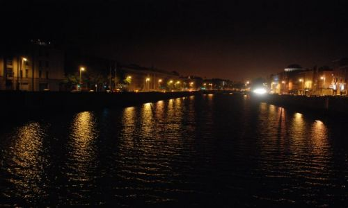 Zdjęcie IRLANDIA / Dublin / Dublin / misto noca
