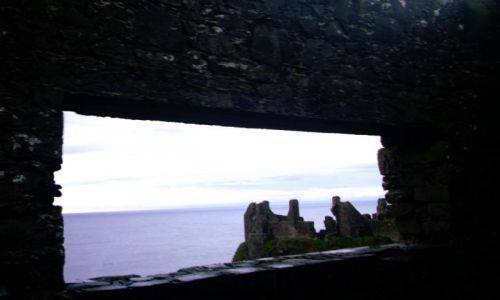 Zdjecie IRLANDIA / - / dunluce / ruiny zamku