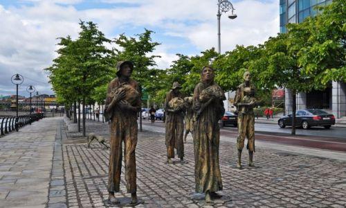 Zdjęcie IRLANDIA / - / Dublin / Famine Memorial(Pomnik Głodu)