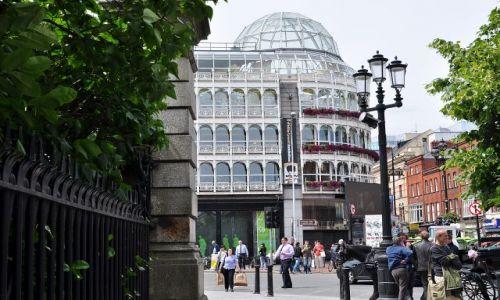 Zdjęcie IRLANDIA / - / Dublin / Centrum handlowe Steephen's Green