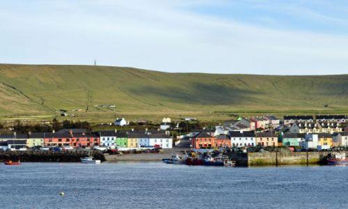 Zdjęcie IRLANDIA / Kerry / Portmagee / Kolorowe miasteczko