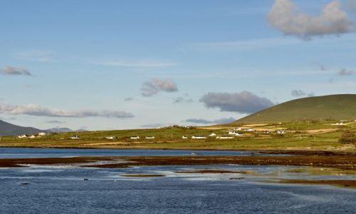 Zdjęcie IRLANDIA / Kerry / Portmagee / Widok z wyspy Valencia