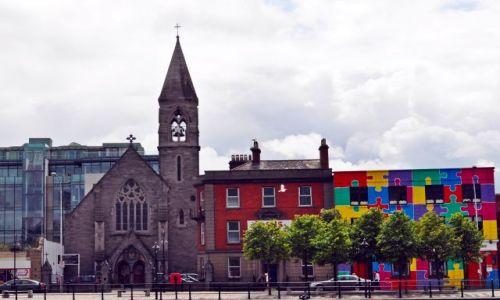 Zdjęcie IRLANDIA / - / Dublin / Stare i nowe