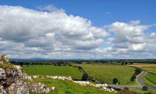 Zdjecie IRLANDIA / Co Tipperary / Cashel / Widok na równinę