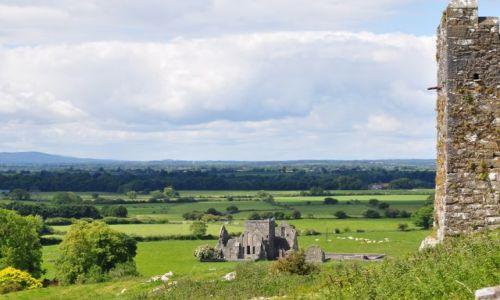 Zdjecie IRLANDIA / Co Tipperary / Cashel / Widok z góry zamkowej