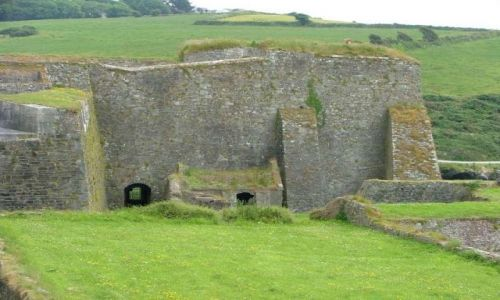 Zdjęcie IRLANDIA / Kinsale Irlandia  / Charles Fort, Kinsale Irlandia  / Charles Fort, Kinsale Irlandia