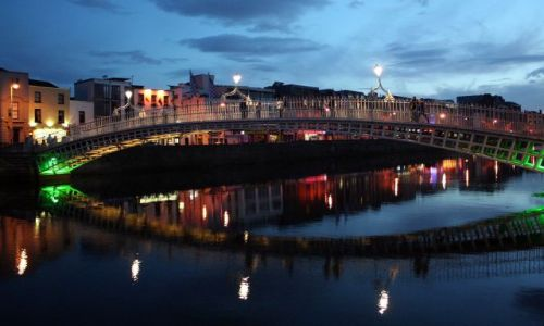Zdjęcie IRLANDIA / - / Dublin / Dublin nocą 2