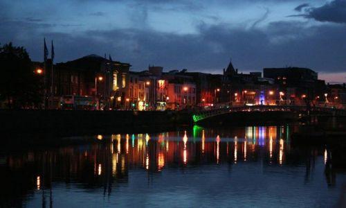 Zdjęcie IRLANDIA / - / Dublin / Dublin nocą 3
