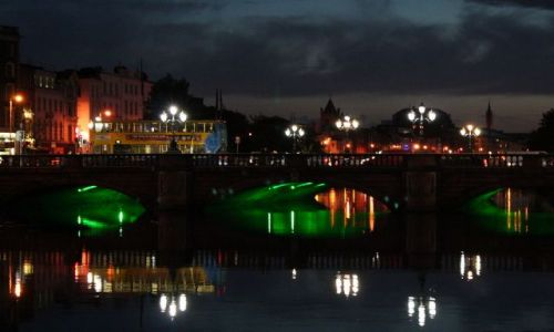 Zdjecie IRLANDIA / - / Dublin / Dublin nocą 4