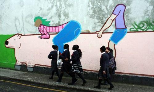 Zdjęcie IRLANDIA / - / Dublin / W drodze do szkoły