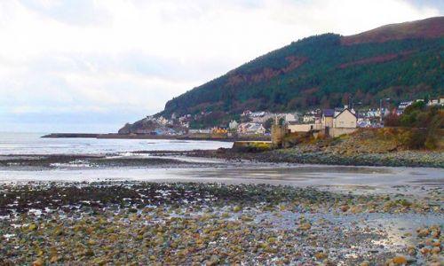 IRLANDIA / Wschodnie wybrzeże / Okolice Newcastle / Króciutko na wyspę św. Patryka